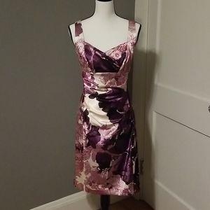 Beautiful Donna Morgan Cocktail Length Dress!